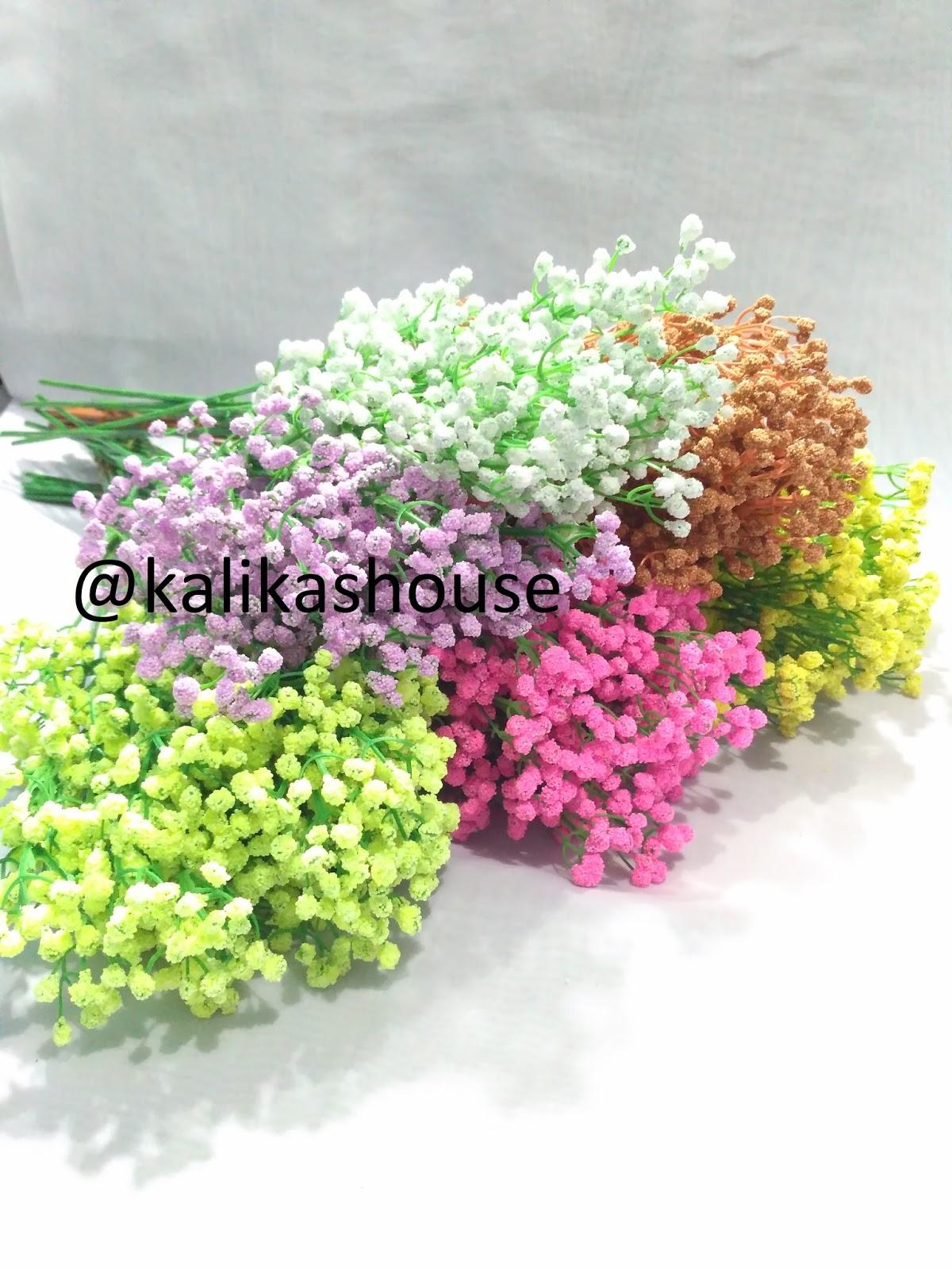 Bunga Baby Breath Flower Artificial   Gypsophila Artificial Satuan f863e71018