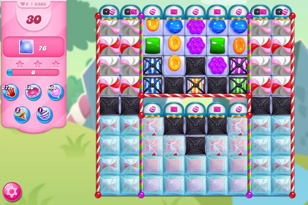 Candy Crush Saga level 8306