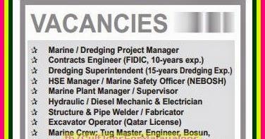 Seaworks co Large Job Vacancies for Qatar - Gulf Jobs for Malayalees