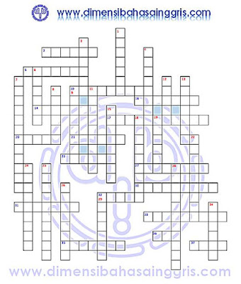 DBI | Crossword Puzzle TTS Job and Profession