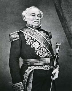 El general José Antonio Páez, líder de La Cosiata