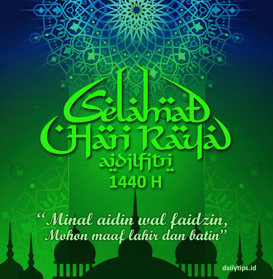 Download Kartu Ucapan Lebaran Ucapan Selamat Idul Fitri Gratis