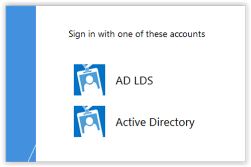 Random thoughts and collisions: ADFS : Authenticating with LDAP