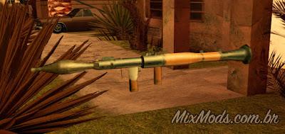 gta sa san mod cleo criar create weapon pickup arma