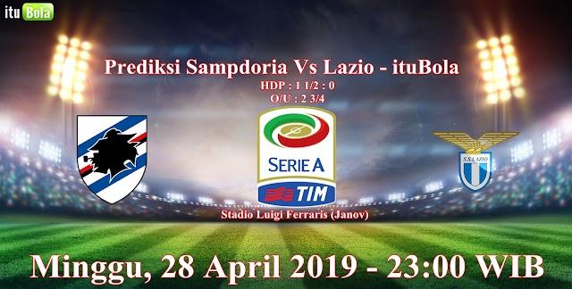 Prediksi Sampdoria Vs Lazio - ituBola