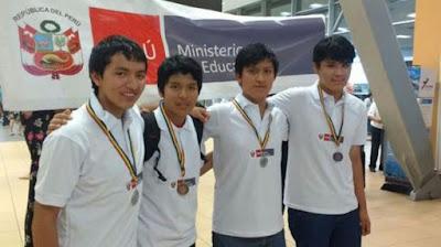 Estudiantes peruanos ganaron 4 medallas en Octavo Máster de Matemática de Rumanía