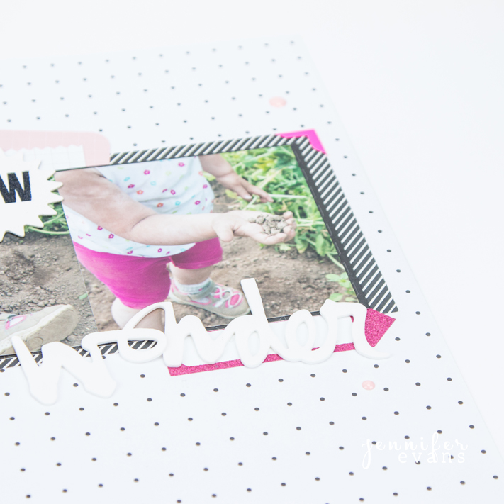 Time is fleeting. Print those pictures and write those memories down. Layout by @createoften
