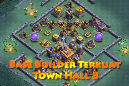 Base Builder Malam Terkuat Town Hall 8