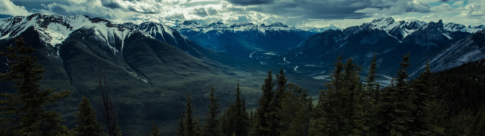 Banff National Park 3840 x 1080