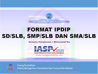 format ipdip akreditasi