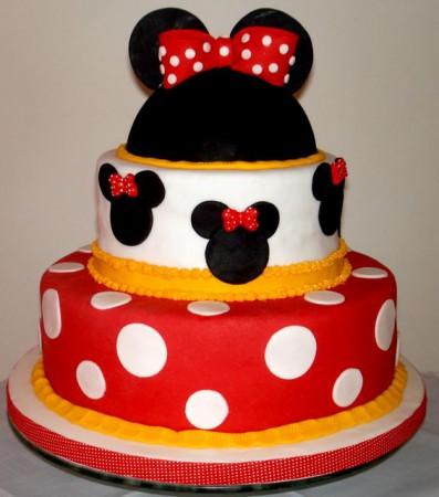 Bolos decorados Minnie Mouse