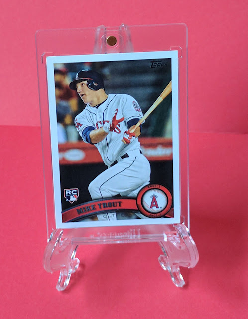 Baseball Card Breakdown Shablam Mike Trout Rookie Card