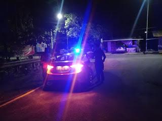 Antisipasi Gangguan Kamtibmas, Polsek Enrekang Lakukan Blue Light Patrol