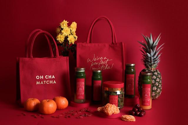 Oh Cha Matcha, Lo Hong Ka, CNY Gift Bag, CNY Gift Ideas, CNY 2021, Food