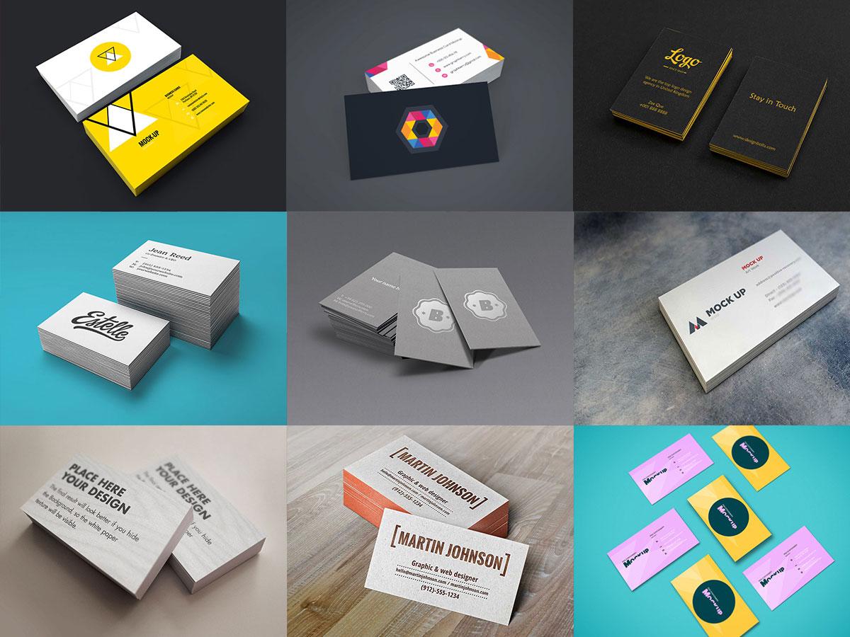 Business Card Mock-Ups Bundle