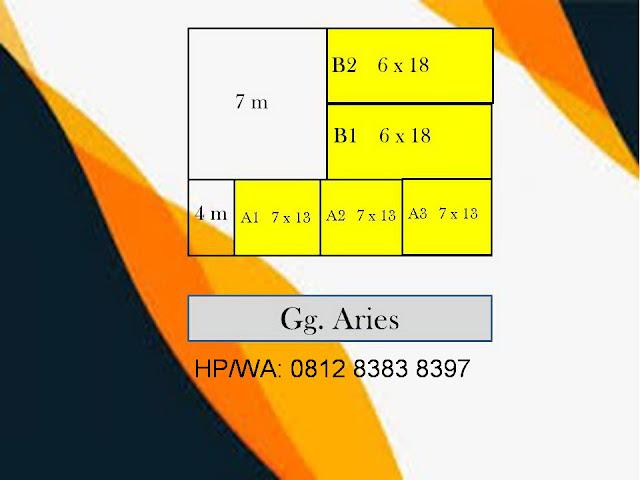 Site Plan Rumah Murah Harga Perdana Aries Village Hanya 475 Juta Di Menteng 7 Medan Sumatera Utara