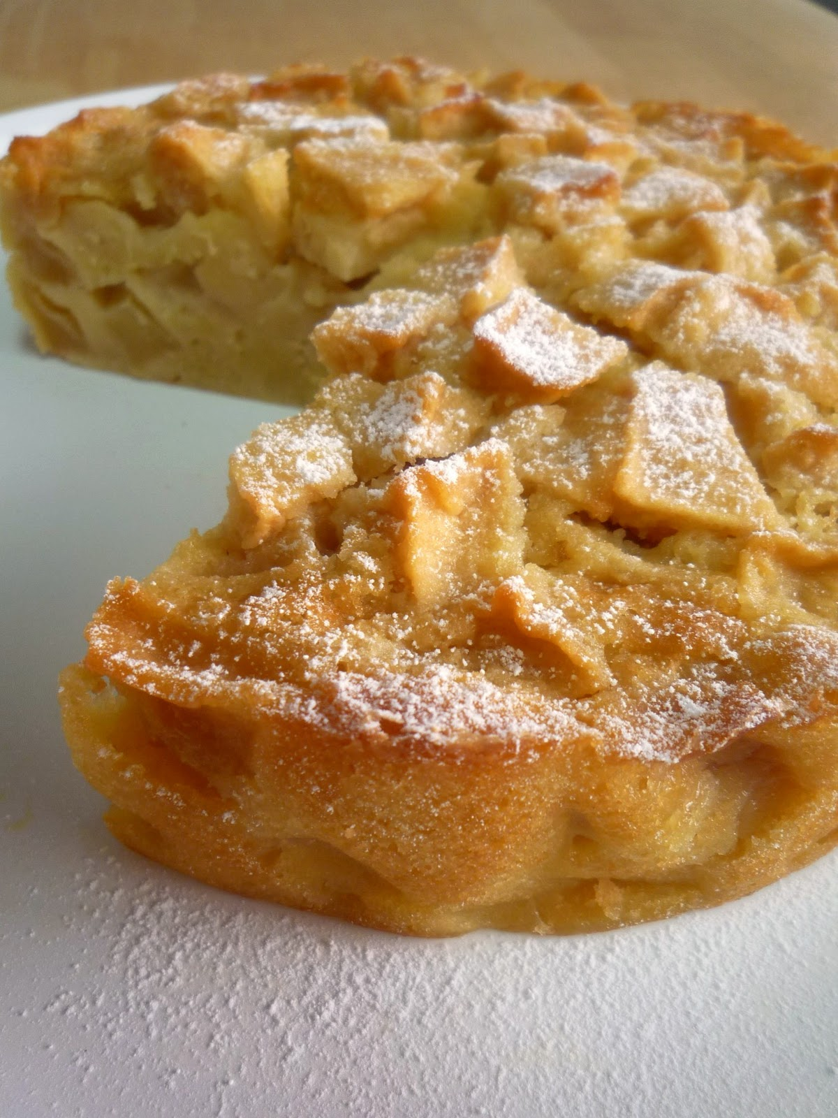 Food Wanderings French Apple Cake It S Beginning To