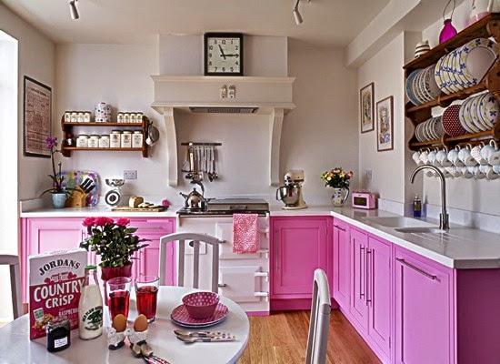 Gambar Dapur Minimalis Wana Pink