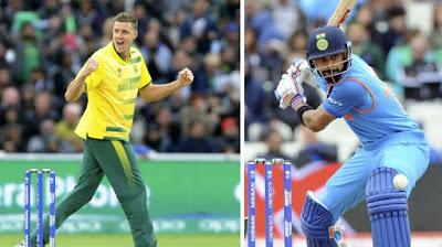 India Vs. South Africa ( Ind vs SA ), 1st ODI Today Match Prediction