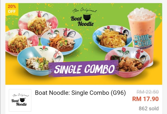 Single Combo RM 17.90 Worth RM22.50