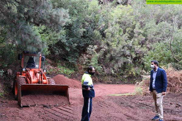 El Cabildo intervendrá por emergencia en el tramo de Gallegos de la carretera del Norte para garantizar la seguridad de los usuarios