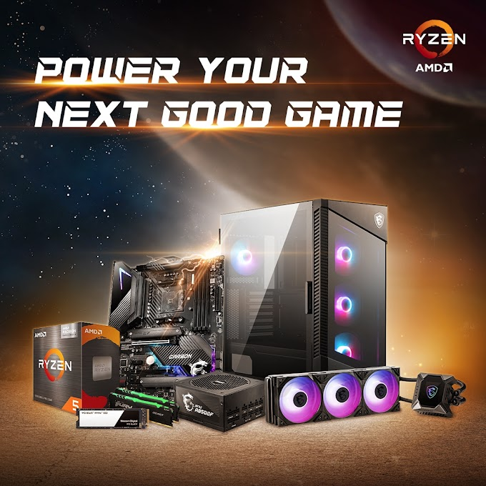 Mega Sorteio PC Gamer MSI e AMD