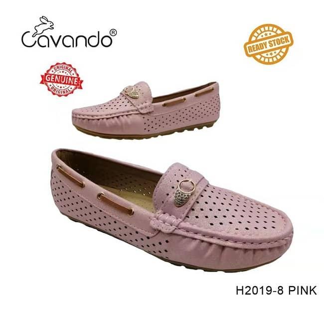 Cavando Pink Loafer Shoes Ni Cantik, Selesa Dan Harga Pun Affordable