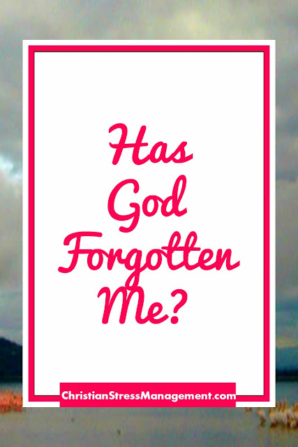 Has God forgotten me?