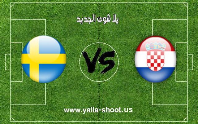 اهداف مباراة كرواتيا والسويد كرة اليد اليوم 26-1-2019 كأس العالم لكرة اليد للرجال