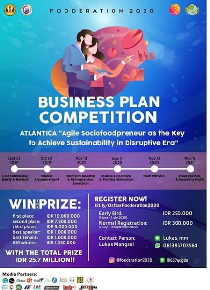 Lomba Bisnis Plan Nasional 2020 di Unpad