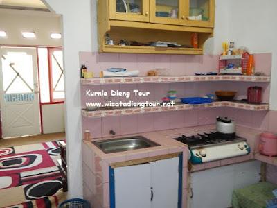 dapur Homestay Batu Kelir Dieng