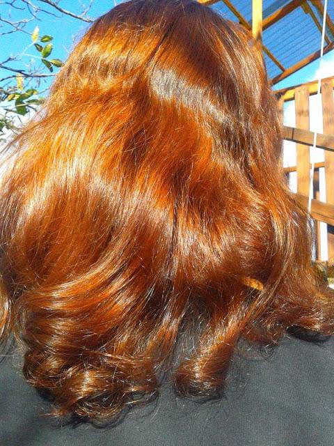 Włosy w październiku 2014r.