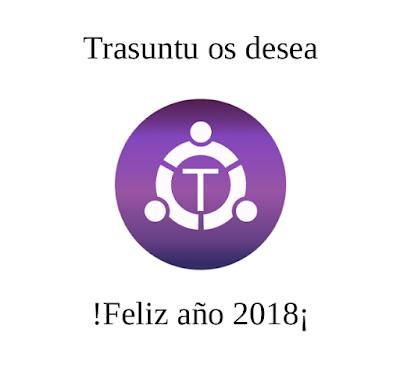 Trasuntu os desea !Feliz año 2018¡