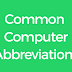Common Computer Abbreviations Set 1