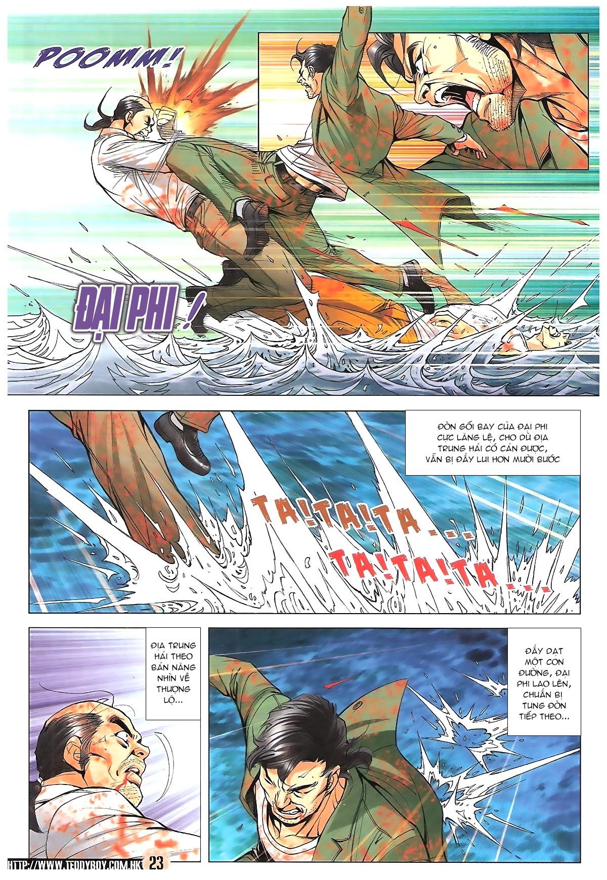 Người Trong Giang Hồ chapter 1761: thủy chiến trang 22
