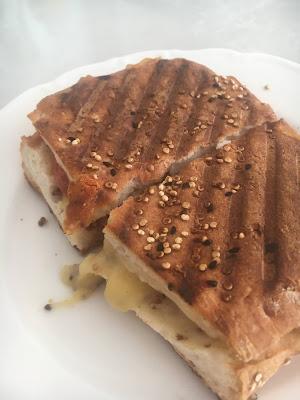 Toasted Sandwiches on Gluten Free Turkish Bread