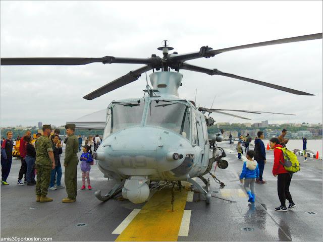 Helicópteros durante la Fleet Week de Nueva York