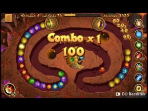 اعدادات داخل لعبة زوما