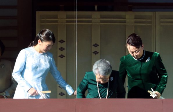 Princess Mako and other royal family members