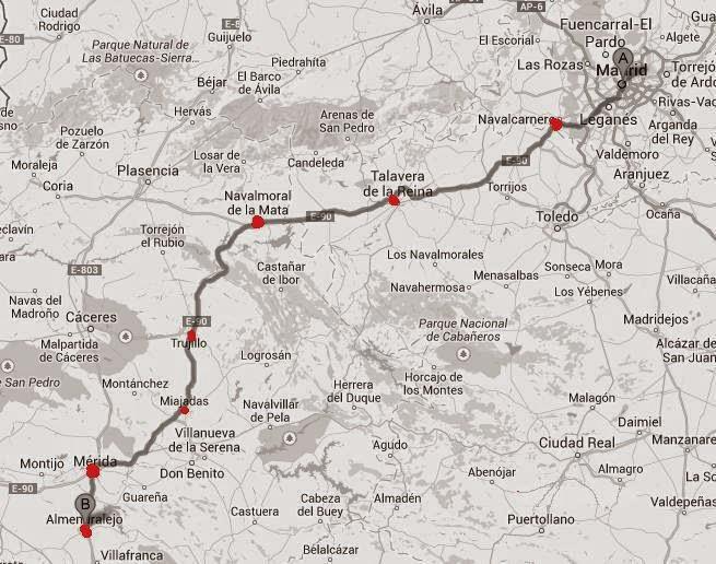 Mapa de unir puntos