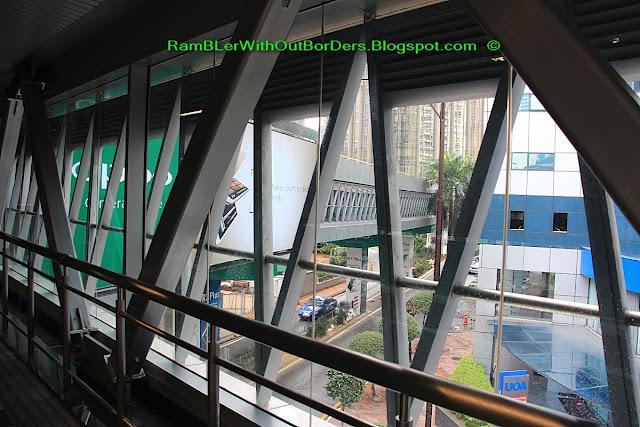 KLCC - Bukit Bintang (BBKLCC) walkway, Bukit Bintang, KL, Malaysia