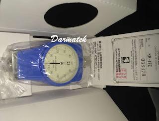 Jual Durometer KORI KR-17E Shore Hardness Tester