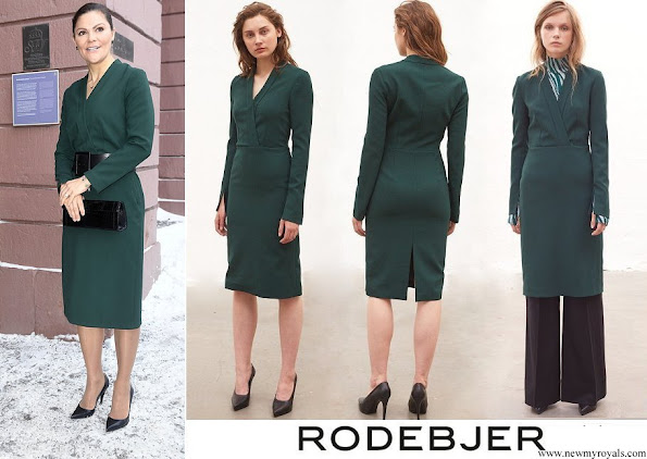 Crown Princess Victoria wore her Rodebjer Alexe dress