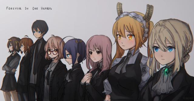Homenagens no Japão e no Mundo a Kyoto Animation (Atualização)