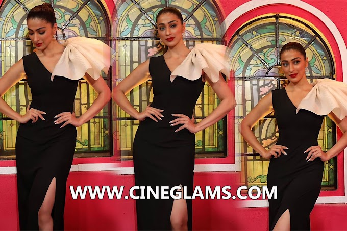 Laxmi raai at cinderella press conference Outfit