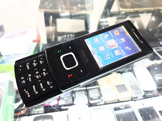 Hape Jadul Nokia 6500 Slide Seken Mulus Kolektor Item