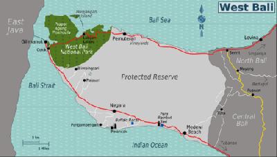 Objek Objek Wisata Di Bali Barat Timur Utara Dan Selatan