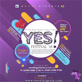 NOVEL Nigeria Presents YES! FESTIVAL 2018