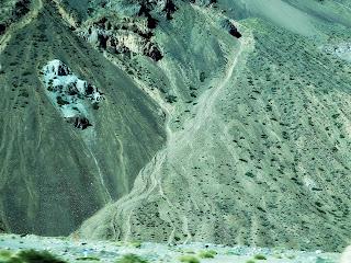Deslizamento de Terra em Uspallata, Argentina