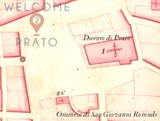 Mappa di Odoardo Warren - Oratorio di San Giovanni Rotondo